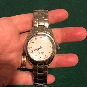 NWOTs Kate Spade stainless steel watch